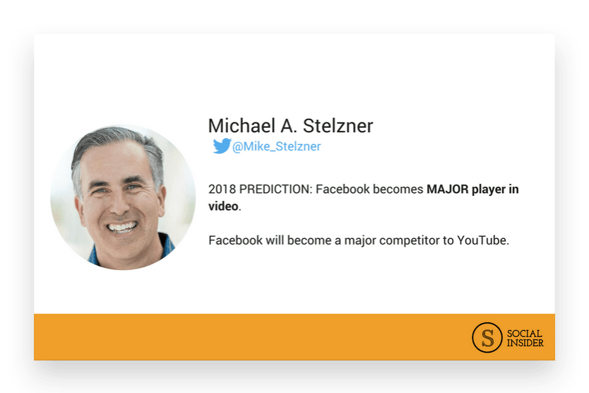 Are you wondering what 2018 might look like for Facebook marketing? Michael Stelzner - the future of Facebook marketing