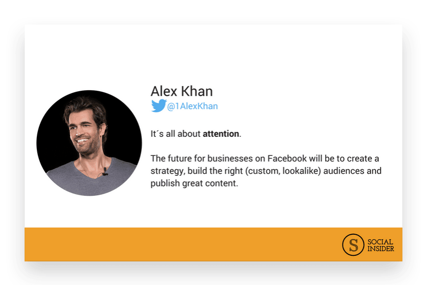 Are you wondering what 2018 might look like for Facebook marketing? Alex Khan - the future of Facebook marketing