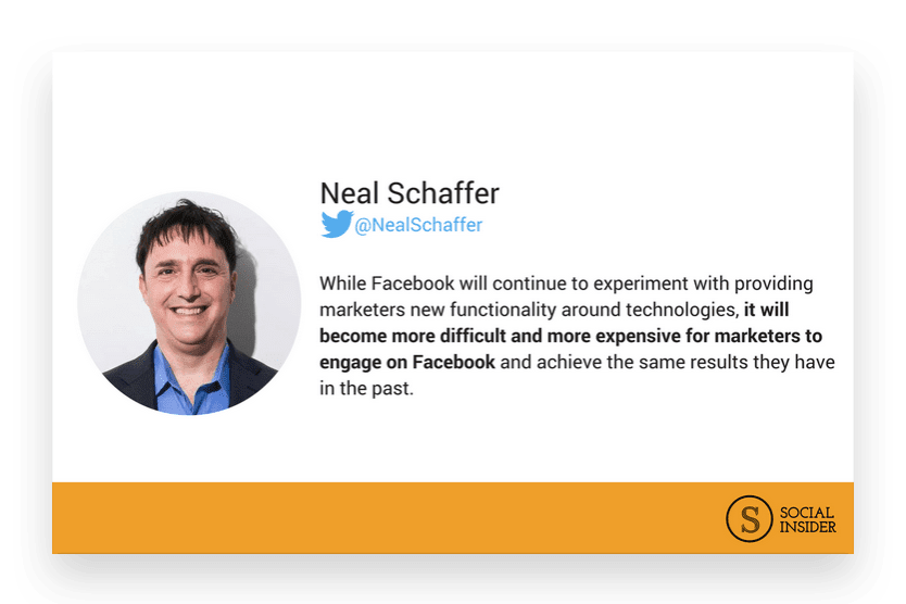 Are you wondering what 2018 might look like for Facebook marketing? Neal Schaffer - the future of Facebook marketing