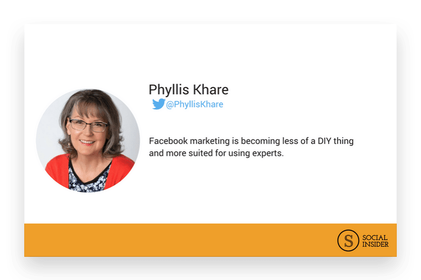 Are you wondering what 2018 might look like for Facebook marketing? Phyllis Khare  - the future of Facebook marketing