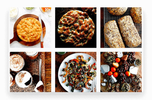 Instagram accounts for food lovers