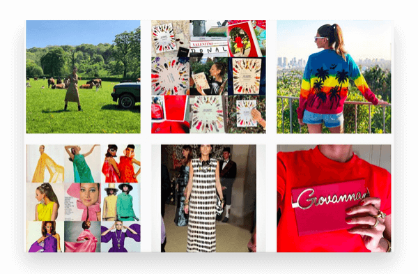 Giovanna Battaglia - Instagram Fashion Account