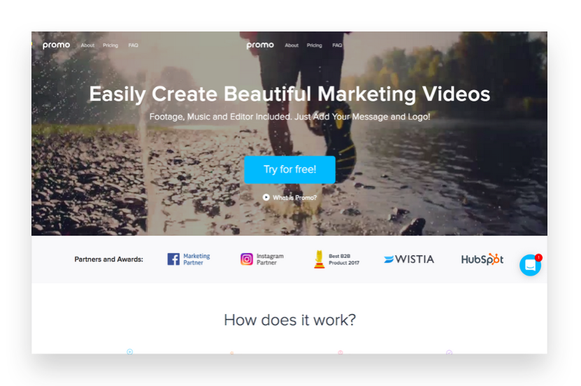 Create beautiful Instagram videos with Promo