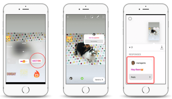 How to add a question sticker to your Instagram Story