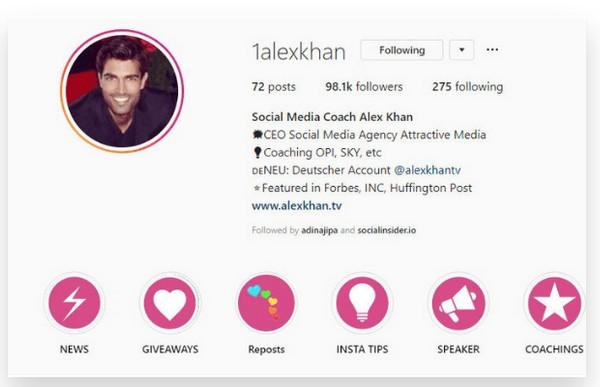 Instagram Business Account Vs  Personal  How Do You Identify A