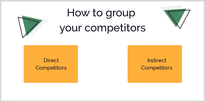 How to group your competitors