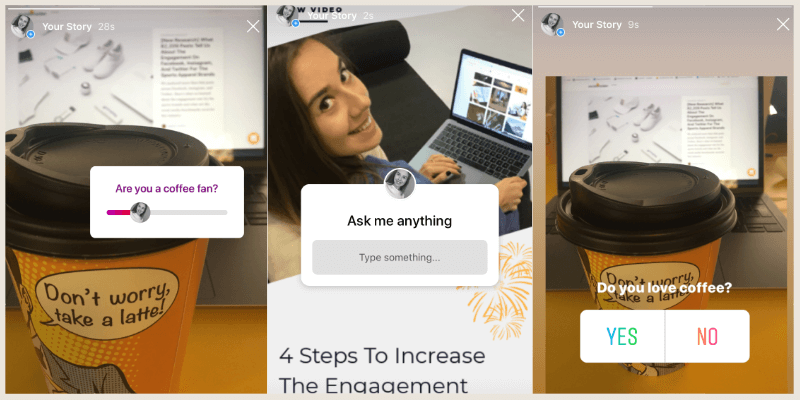 Start conversations with Instagram Stories Stickers