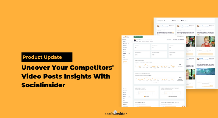 How to get Facebook video posts insights with Socialinsider