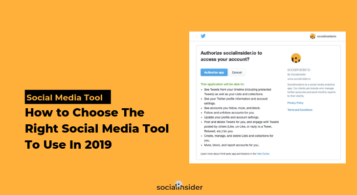 How to choose the right social media tool