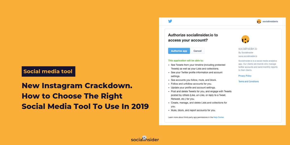 New Instagram Crackdown. How to Choose The Right Social Media Tool To Use In 2019