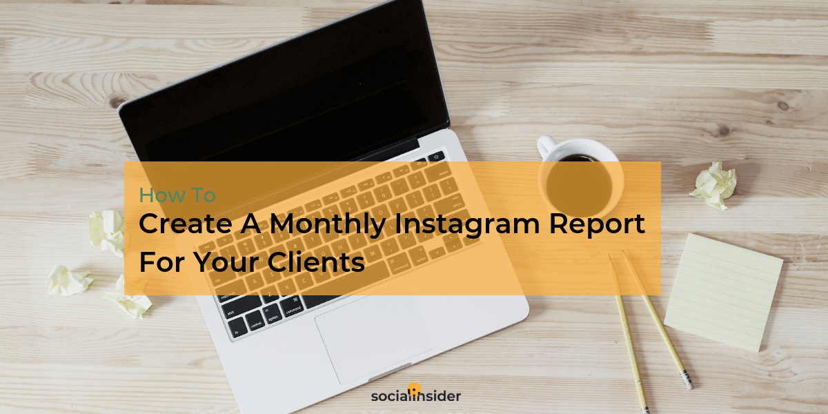 Instagram analytics reports