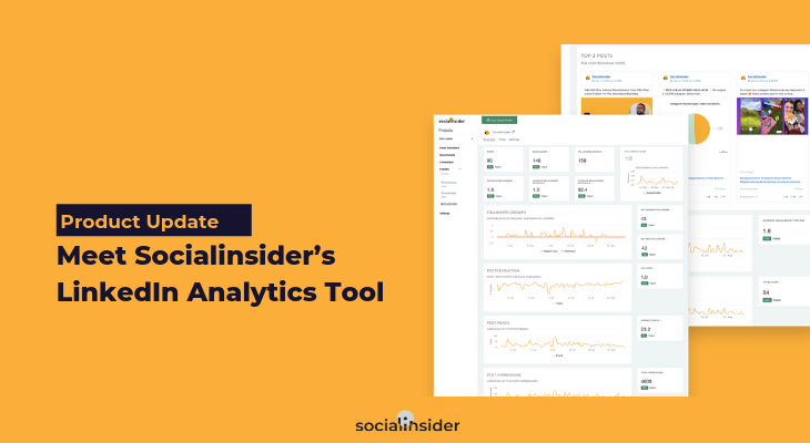 Measure your LinkedIn performance with Socialinsider