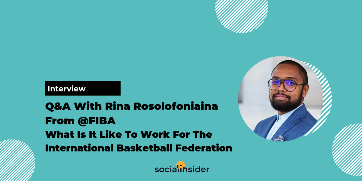 Q&A With Rina Rasolofoniaina From FIBA What Is It Like To Work For The International Basketball Federation