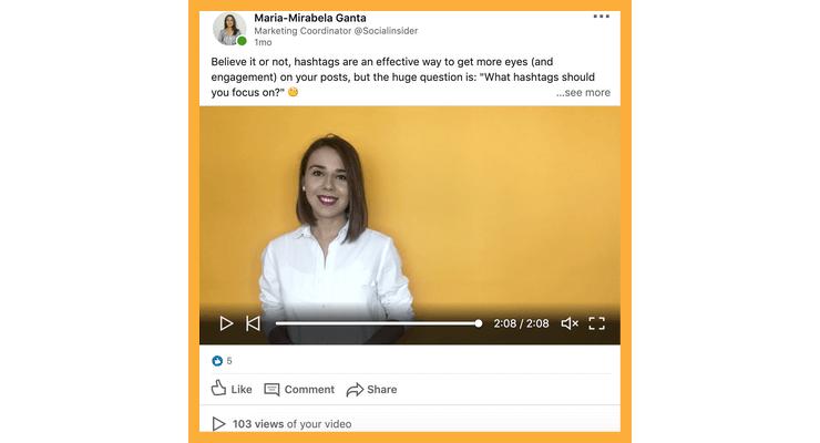 Upload native videos