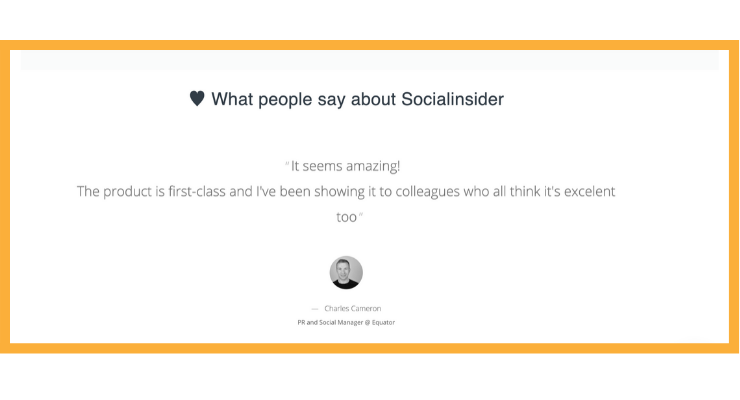 What people say about Socialinsider