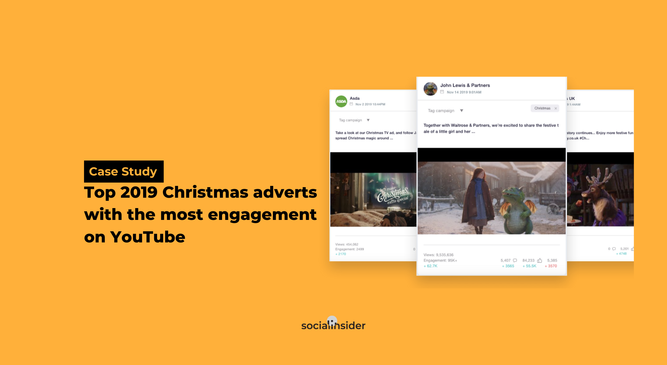 Youtube Asda Christmas Advert 2021 Top 2019 Christmas Adverts With The Most Engagement On Youtube