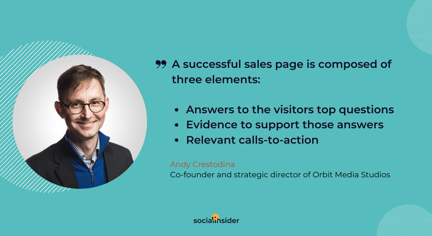 How to create a successful sales page