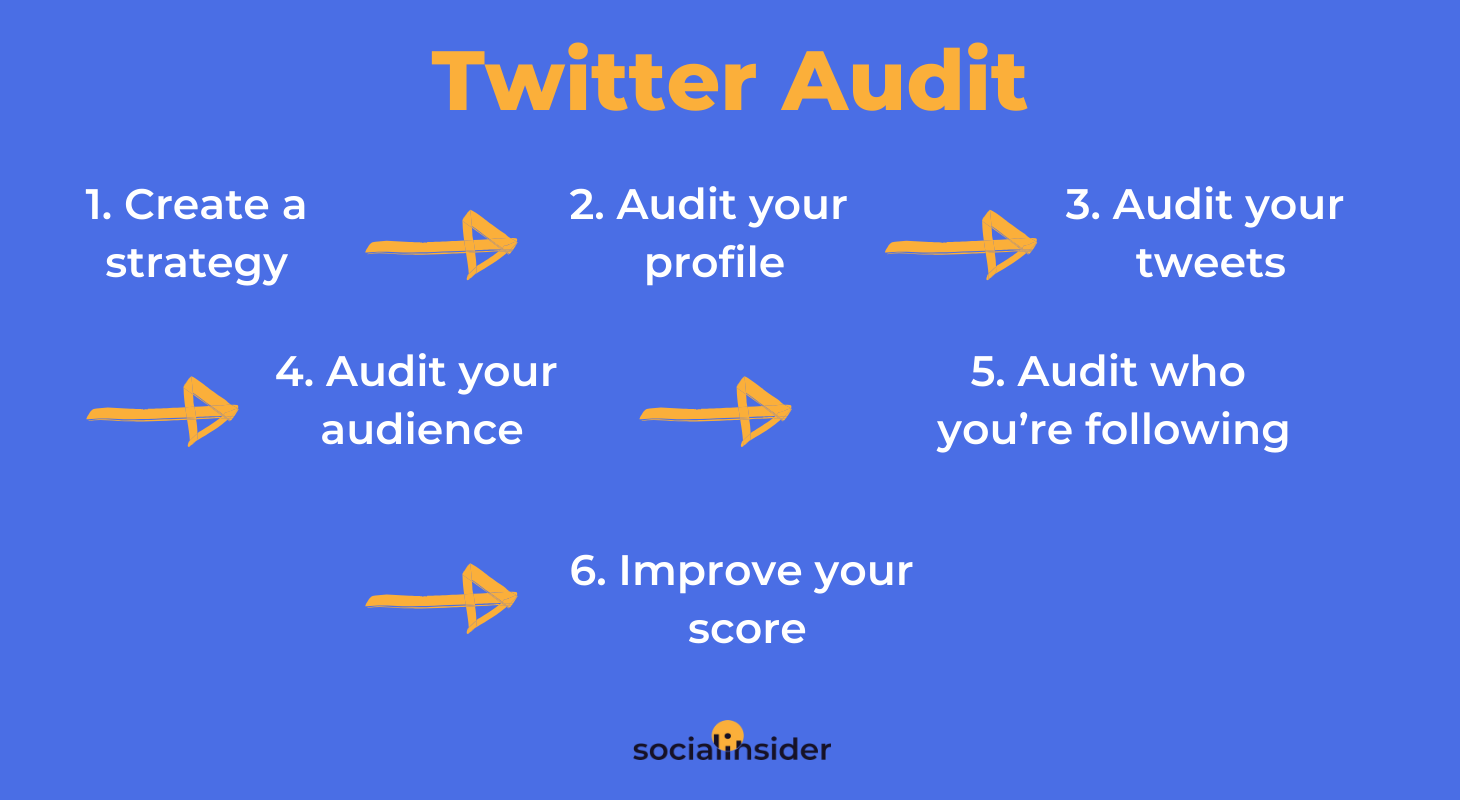 Steps to a Twitter Audit