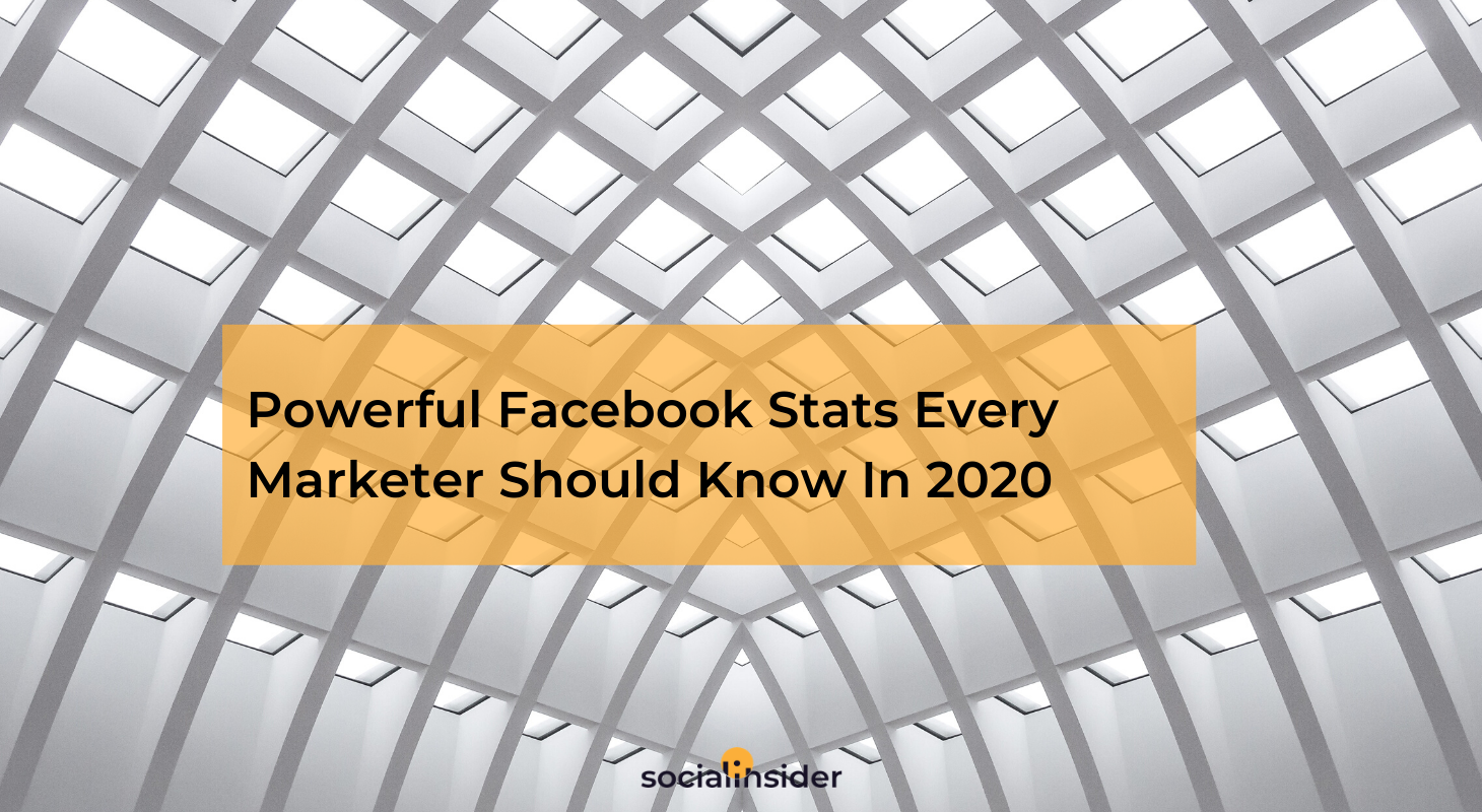 Marketers should know these Facebook stats in 2020
