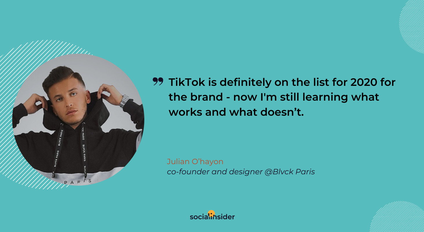 Here's what Julian thinks about TikTok