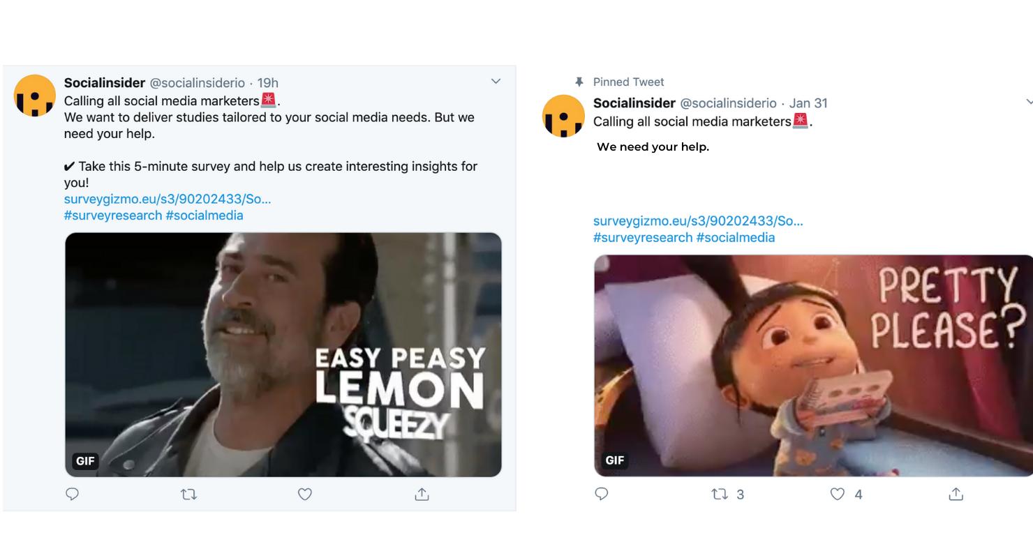 Haz que tus Tweets sean diferentes