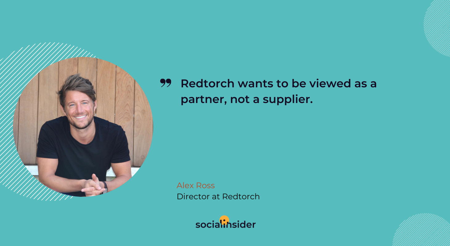 Redtorch wants to be viewed as a partner, not a supplier