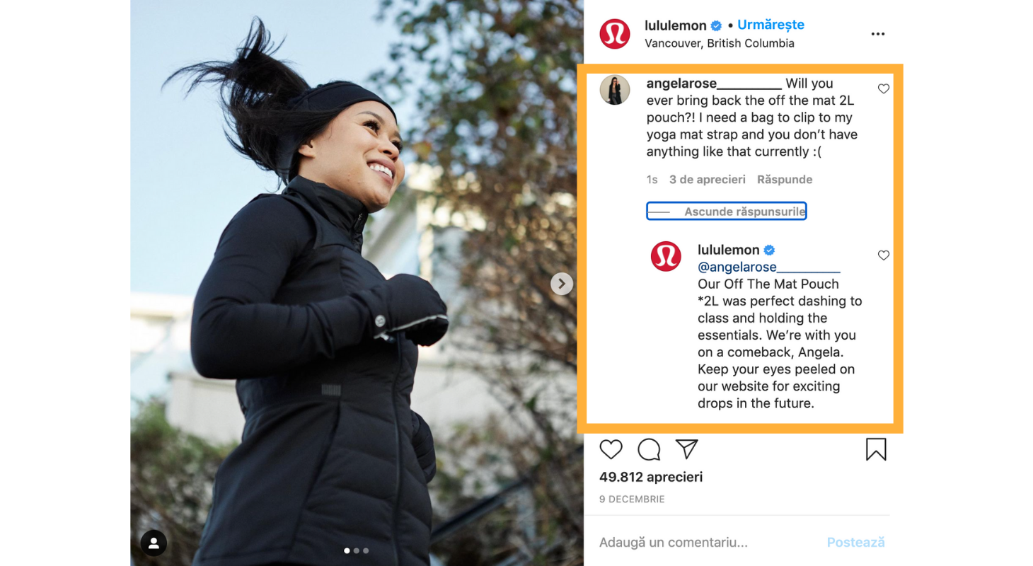 See how Lululemon creates engagement on Instagram