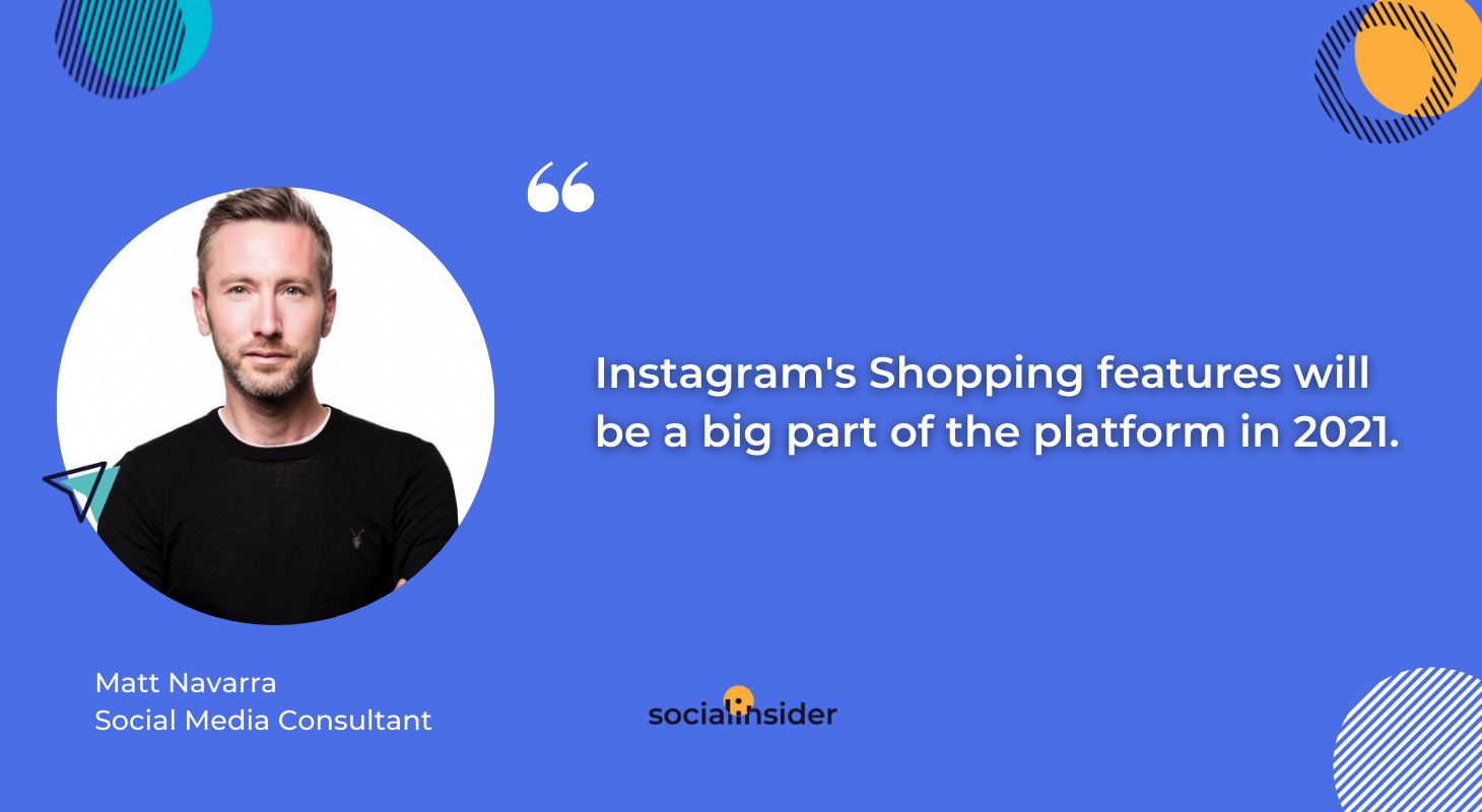 The future of Instagram marketing is all about Instagram's Shopping features