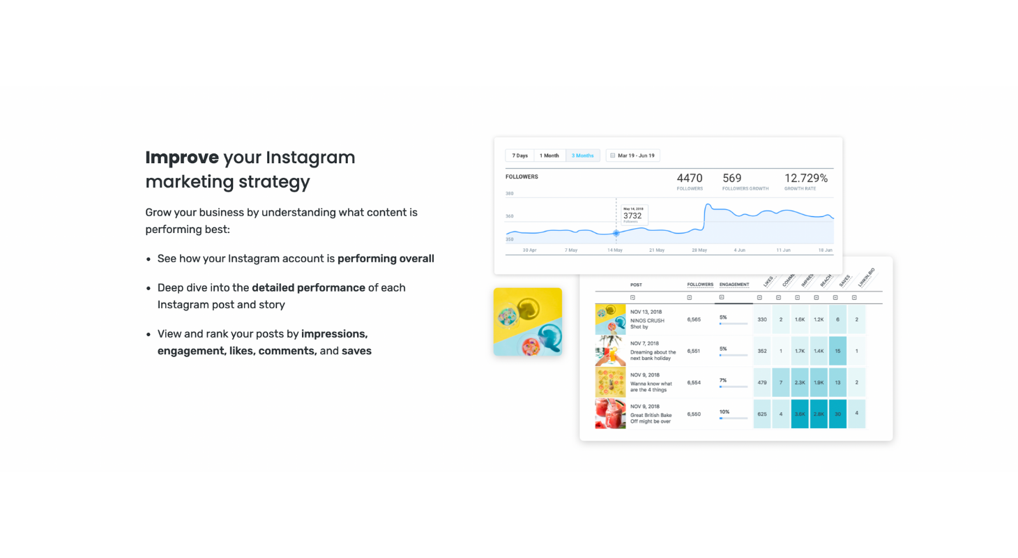 See your Instagram insights with Later