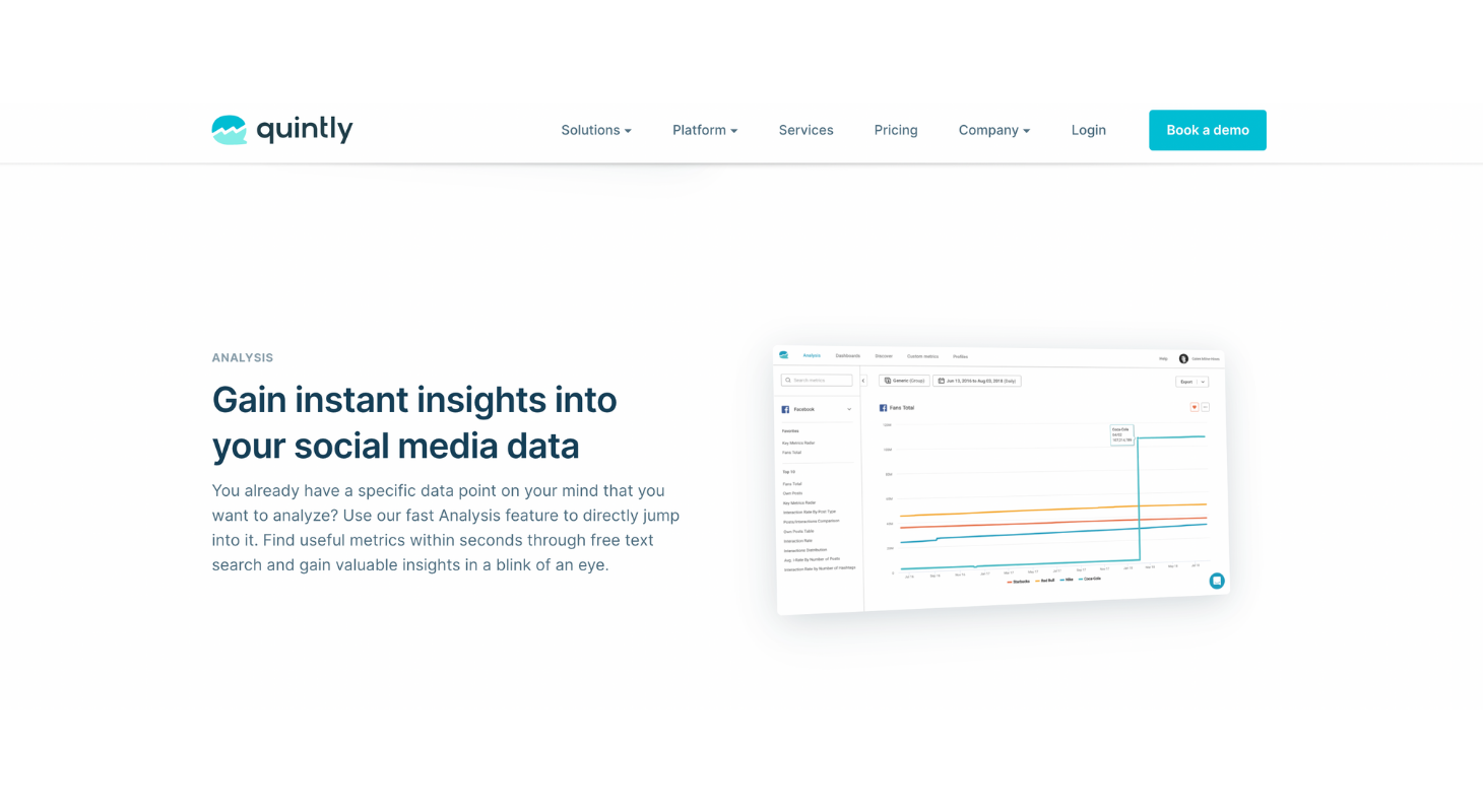 Analyze your Instagram content with Quintly