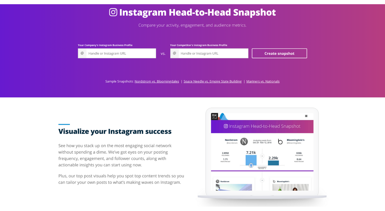 Track your social media success with Rival IQ