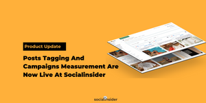 [Product Update] Posts Tagging And Campaigns Measurement Are Now Live At Socialinsider