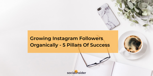 Getting Instagram Followers Organically - 5 Pillars Of Success