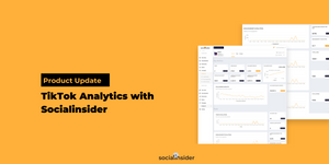 [Product Update] TikTok Analytics with Socialinsider - A Step by Step Guide